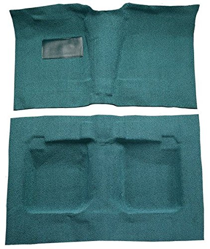 1959 to 1960 Oldsmobile Dynamic 88 Carpet Custom Molded Replacement Kit, 2 Door Hardtop (8251-Almond Plush Cut Pile)