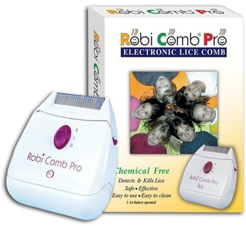 RobiComb Pro Chemical free lice control (Pack of 3) by LiceGuard