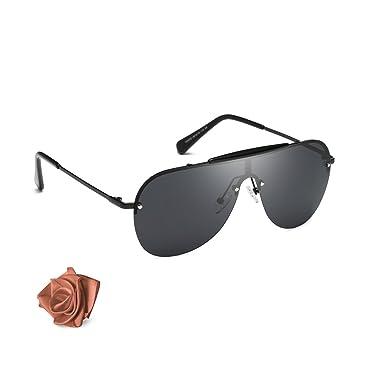 Aiblii Classic Aviator Sonnenbrille polarisiert für Frauen Männer mit UV400 Schutz, 100% Rayban Blocking