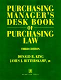 img - for Purchasing Manager's Desk Book of Purchasing Law book / textbook / text book