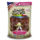 Loving Pets Products It's Purely Natural Chicken Tenders Dog Treat, 4-Ounce