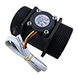 DIGITEN G2'' 2 inch Water Flow Hall Sensor Switch Meter Flowmeter Control 10-200L/min