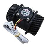"DIGITEN G2"" 2 inch Water Flow Hall Sensor Switch Meter Flowmeter Control 10-200L/min"
