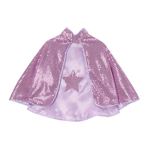 Lavender Reversible Sparkle Star (Dress Up Cape)