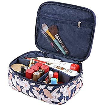 Makeup bags Portable Travel Cosmetic Bag Organizer Multifunction Case for Women (Color2) MKPCW