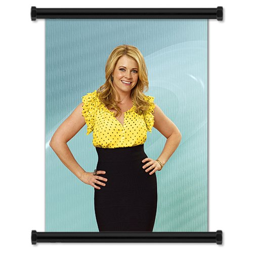 "Melissa & Joey TV Show Season 1 Fabric Wall Scroll Poster (16"" X 21"") Inches"