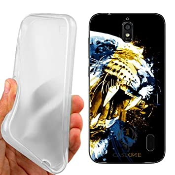 save off df4f3 38935 Case Cover Tiger Sweden For Huawei Ascend Y625: Amazon.co.uk ...