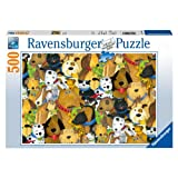 Ravensburger Quirky Dogs - 500 pc Puzzle