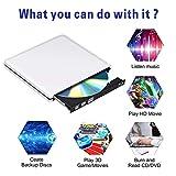Ploveyy Blu ray Drive DVD Drive External USB 3.0