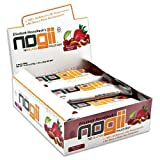 NoGii Paleo Nutritional Bar, Nuts About Berries, 9 Count, Health Care Stuffs