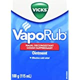 Vicks VapoRub, 115ml/100gm- Packaging May Vary