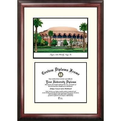 Image of Campus Images AZ994V Arizona State University Scholar Diploma Frame, 8.5' x 11' Document Frames