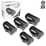 LD Compatible Dell 593-BBML Set of 5 Black Laser Toner Cartridges for Dell S2810DN, H815DW, S2815DN