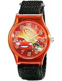 Kids' W001710 Cars Analog Display Analog Quartz Black Watch