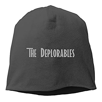Unisex The DEPLORABLE Donald Trump Timeless Classic Skull Beanie Cap