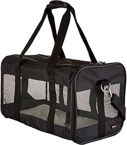Transportín de viaje de malla suave para mascotas 2