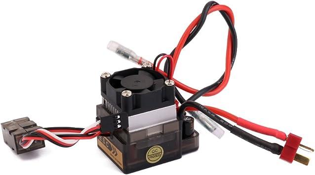 Regulador De Velocidad 320a 7.2v-16v Esc Alta Tensión Cepillado ...