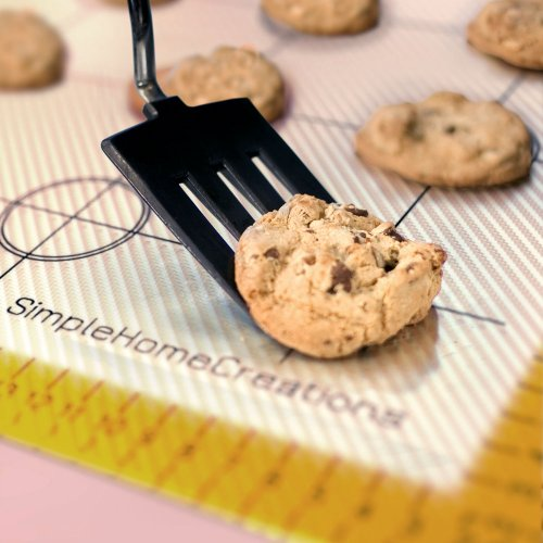 Simple Home Creations Nonstick Silicone & Fiberglass Baking Mat Half Sheet 30x40cm