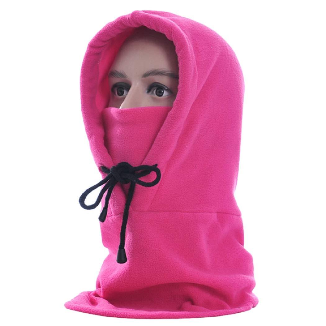MIOIM Thermal Fleece Balaclava Hat Mask Winter Warm Headwear for Womens Mens SAICAD*220150702