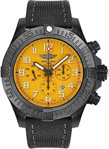 Breitling Avenger Hurricane Yellow Dial Men's Watch XB0170E4/I533-100W