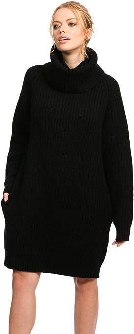 Citizen Cashmere Cowl Neck Sweater Dress