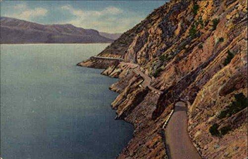 Lake Shore Drive, Shoshone Lake, Cody Way Yellowstone National Park, Wyoming Original Vintage Postcard