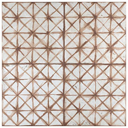 SomerTile FPEKTMO Reyes Pantheon Ceramic Floor and Wall, 17.63