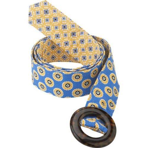 Vera Bradley Reversible Belt in Riviera Blue
