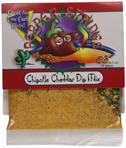 (Pepper Springs Chipotle Cheddar Dip Mix, 1.0 Ounce)