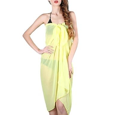 shmimy Mujer sarong pareo Falda toalla de playa toalla toalla ...