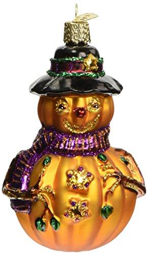 Old World Christmas Mr. Jack O' Lantern Glass Blown Ornament