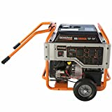 10000 watt portable generator - Generac 10,000W Portable Generator with Electric Start and 20' Cord
