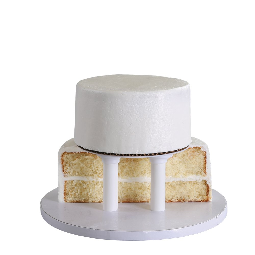 Amazoncom Bakery Crafts Two Tier Cake Stacking Kit Cake Stands