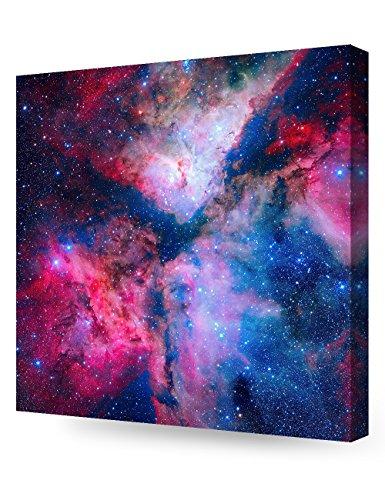 DecorArts - Canvas Prints Wall Art - The spectacular star forming Carina Sagittarius Arm Nebula Giclee Print on Canvas for Wall Decor. 24x24x1.5
