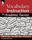 Vocabulary Instruction for Academic Success (Professional Resources)