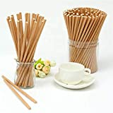 Paper Drinking Straws | 100pcs Straws Made From Paper | Biodegradable & Recyclable | 0 Plastic Waste