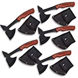Groomsmen Gifts Set of 5 Personalized Axes - 1 Line