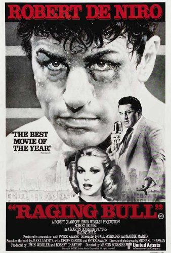 - Raging Bull POSTER Movie (1980) Australian Style A 11 x 17 Inches - 28cm x 44cm (Robert De Niro)(Cathy Moriarty)(Joe Pesci)(Frank Vincent)(Nicholas Colasanto)(Theresa Saldana)