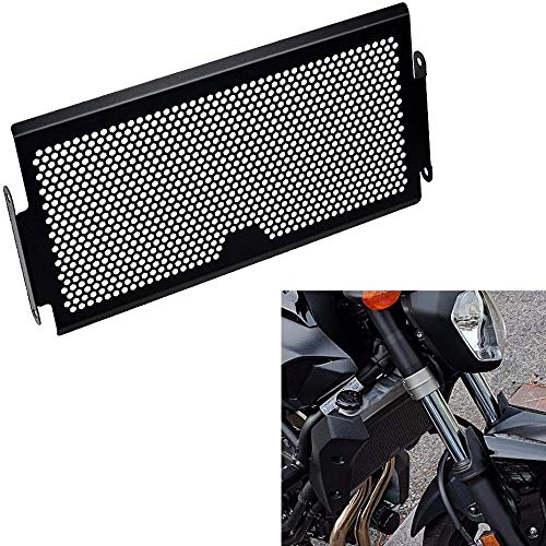 SODIAL Protectores Rejilla Cubierta del Radiador Protector para FZ 07MT 07 XSR700 Protectores de Rejilla del Radiador Cubierta de Protector para FZ07 MT 07 2013-2018
