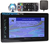 Soundstream VRN-65HXB In-Dash 2-DIN 6.2' Touchscreen LCD DVD Receiver with Bluetooth, GPS Navigation and SiriusXM Ready