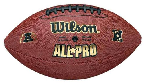 Wilson All Pro Composite NFL Pee Wee - Composite Wee Leather Pee Football