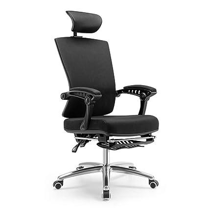 Sillas de oficina con brazos y respaldo, silla moderna y minimalista ...