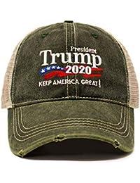 7e3d557a8e152 Trump 2020 Keep America Great Campaign Embroidered USA Hat