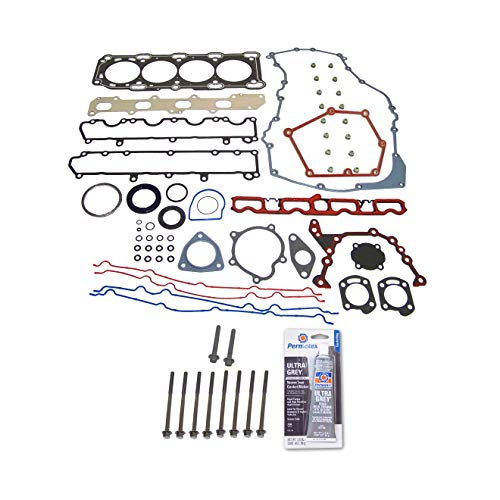 Head Gasket Set Bolt Kit Fits: 99-02 Chevrolet Cavalier Pontiac Sunfire 2.4L VIN T