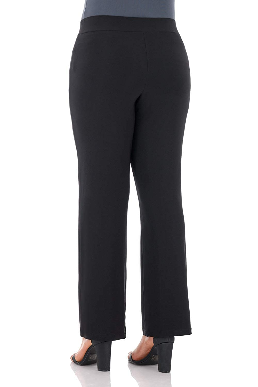 b6248c5997b Rekucci Travel in Style - Curvy Woman Classic Straight Leg Plus Size Pant  at Amazon Women s Clothing store
