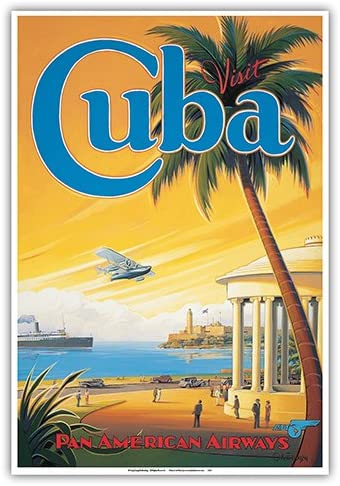 holiday Hawaii United Airlines Travel Advert Retro style metal wall sign plaque