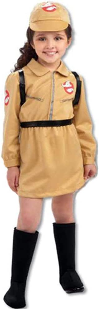 Disfraz de Cazafantasmas para niña - 5-7 años: Amazon.es: Juguetes ...