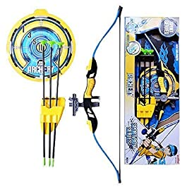 temson big size archer bow and arrow archery with quiver target board strong string thread & laser targeting big size 28…