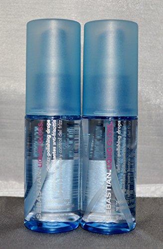 Sebastian Liquid Gloss Defrizz-Polishing Drops 1.7oz (2 Pack) (Gloss Polishing)