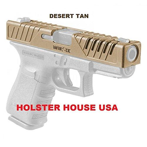 Holster House Usa Tactic Skin 17 Fab Defense Fits Glock 17, Glock 22, Glock 31, Slide Cover Desert Tan 17, FAB Defense